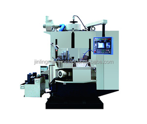 Double disc surface grinding machine for piston ring