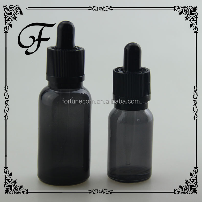 black frosted/matte 30ml glass dropper bottles with childproof dropper for e-juice 10ml/30ml dropper black glass bottle