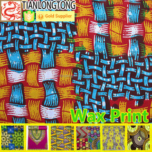 hot new products for 2015 african imitation wax print fabric summer dresses
