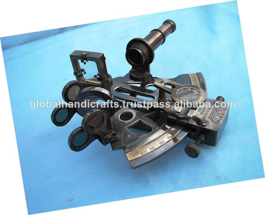 "Kelvin And Hughes 4"" Antique German Pocket sextant"