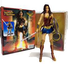 Superheroes action figures Wonder Woman movable 17cm PVC figures