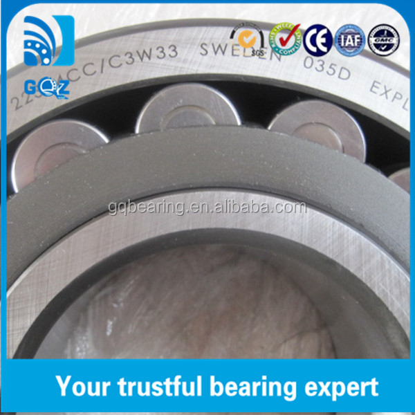 22324 spherical roller bearings 120*260*86
