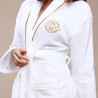 wholesale 100% cotton terry cloth bath robe