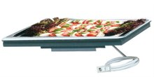 buffet equipment electrical hot and cold plate for built-in use for hotel restaurant bistro