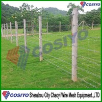 2015 new corrosion resistance field cattle fencing wire