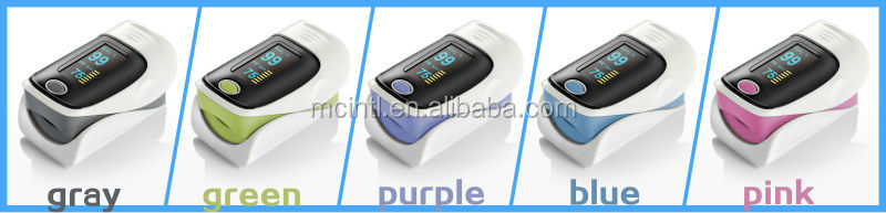 MiO2 SpO2 Color OLED Display Finger Portable Pulse Oximeter