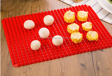 High Quality Pyramid Pan Custom Silicone Baking Mat, Heat-Resistant Non-stick Silicone Baking Mat
