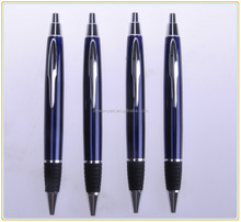 Fancy Click Quality Promotional Rubber Grip Metal Ball Pen Triangle Shape Pen