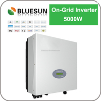 Bluesun 5kw grid tie variable frequency drive solar inverter with high efficiency