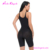 China manufacturer black open crotch shapewear weight loss body shaper