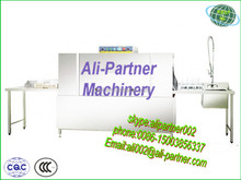 Hotel commercial rack conveyor type commercial dishwasher