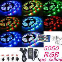 Hot sale flexible 60led/m waterproof RGB led strip 5050