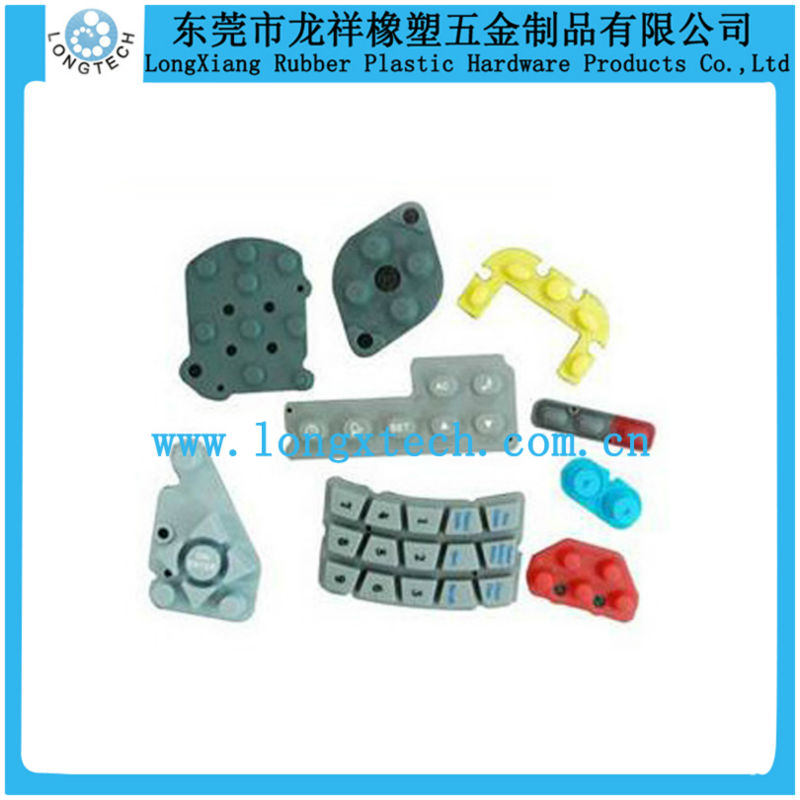 liquid injection molding silicone keypads for tv remote controller