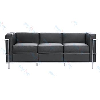 le corbusier lc2 sofa buy 3 seater sofa replica sofa le corbusier sofa replica product on. Black Bedroom Furniture Sets. Home Design Ideas
