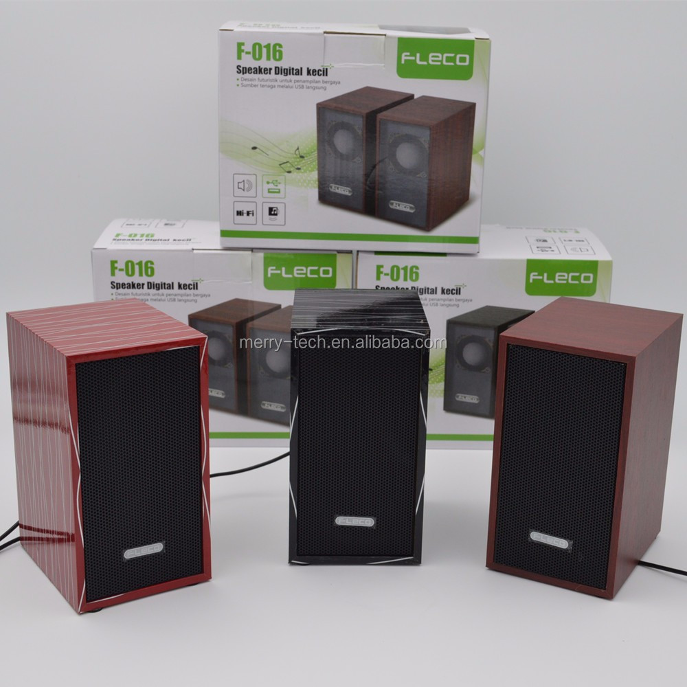 High Power wooden Bookshelf Speaker for Home Theater and Music Systems