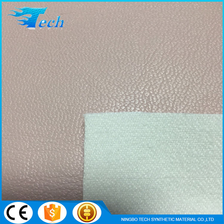 0.8MM Viscose+ pu genuine leather upholstery fabric