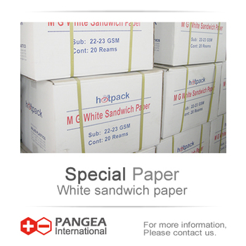 M.G White sandwich packing paper