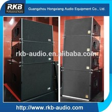 Q1+Q2 compact line array sound system/speakers professional