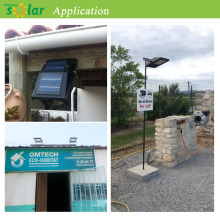 Externa solar outdoor lighting solutions for driveways, patios, garden paths and car parks (JR-PB001)
