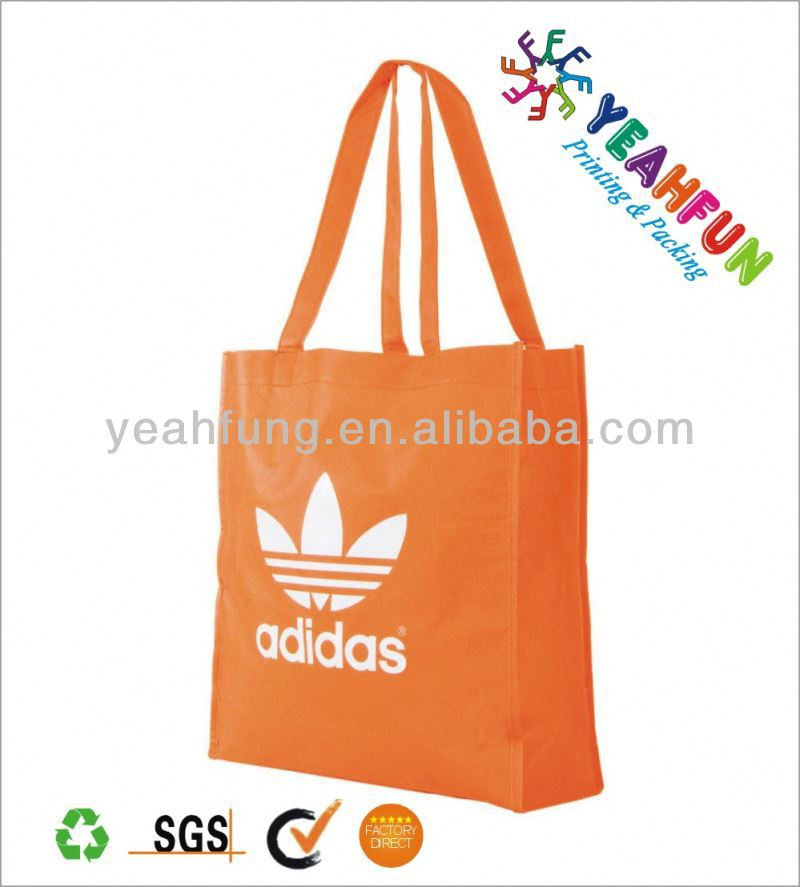Promotional coloful shopping bag