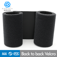 Two Sides of Velcro Back to Back 100% Nylon Soft Self Adhesive Back To Back