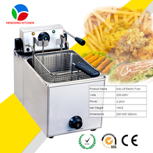 Automatic Commercial Counter Top Electric Fryer For Sale