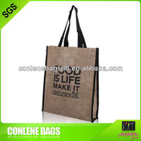 2013 eco-friendly promotional jute bag