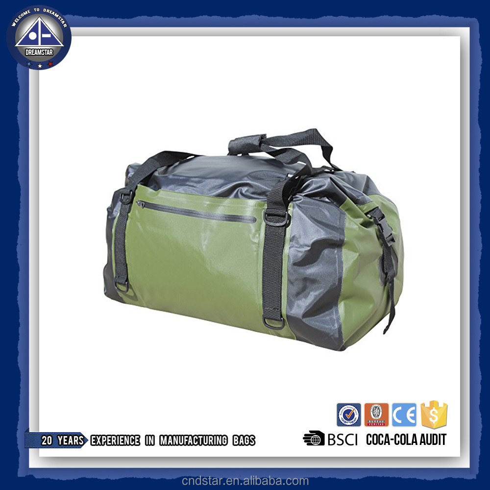 Waterproof Duffel Dry Bag 60L / Durable and Versatile Tarpaulin