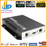 Best Price HEVC H.265 H.264 HDMI To IP Video Encoder IPTV Live Streaming Encoder Support RTSP RTMP UDP HLS ONVIF