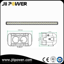 High Quality 260W Single Row LED Light Bar for Jeep Wrangler jk 4x4 Offroad