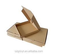 Pizza Boxes Corrugated Pizza Box Kraft Pizza Paperboard Take Out Containers Packing Boxes 10 Pieces