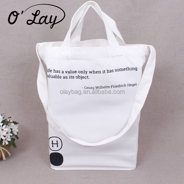 Wholesale Custom Online India Fashion Cotton Canvas Shopping Bag