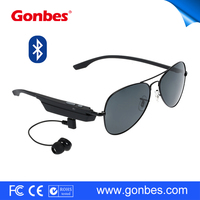 USB Earphone Sunglasses Noise Cancelling Hands Free Bluetooth Car Kit