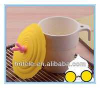 Newest cheap silicone rubber coffee cup lid