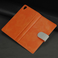 Cell Phone Case Protective Case Shell for Sony Xperia Z5 Mini Flipcase Orange