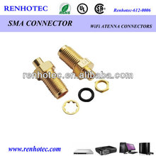 Factory price pigtail rg316 cable sma to rp sma sma to crc9 female connector
