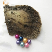 6-7mm wholesale natural akoya wish saltwater oyster round pearl