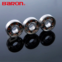 Machine spare parts 8x22x7mm 608 bearing with silicone nitride ceramic ball