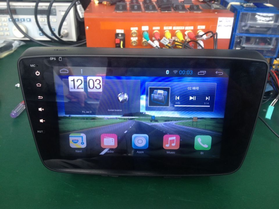 "ugode 8""touch pad Android 4.4 6.0 system for Suzuki Baleno autoradio"