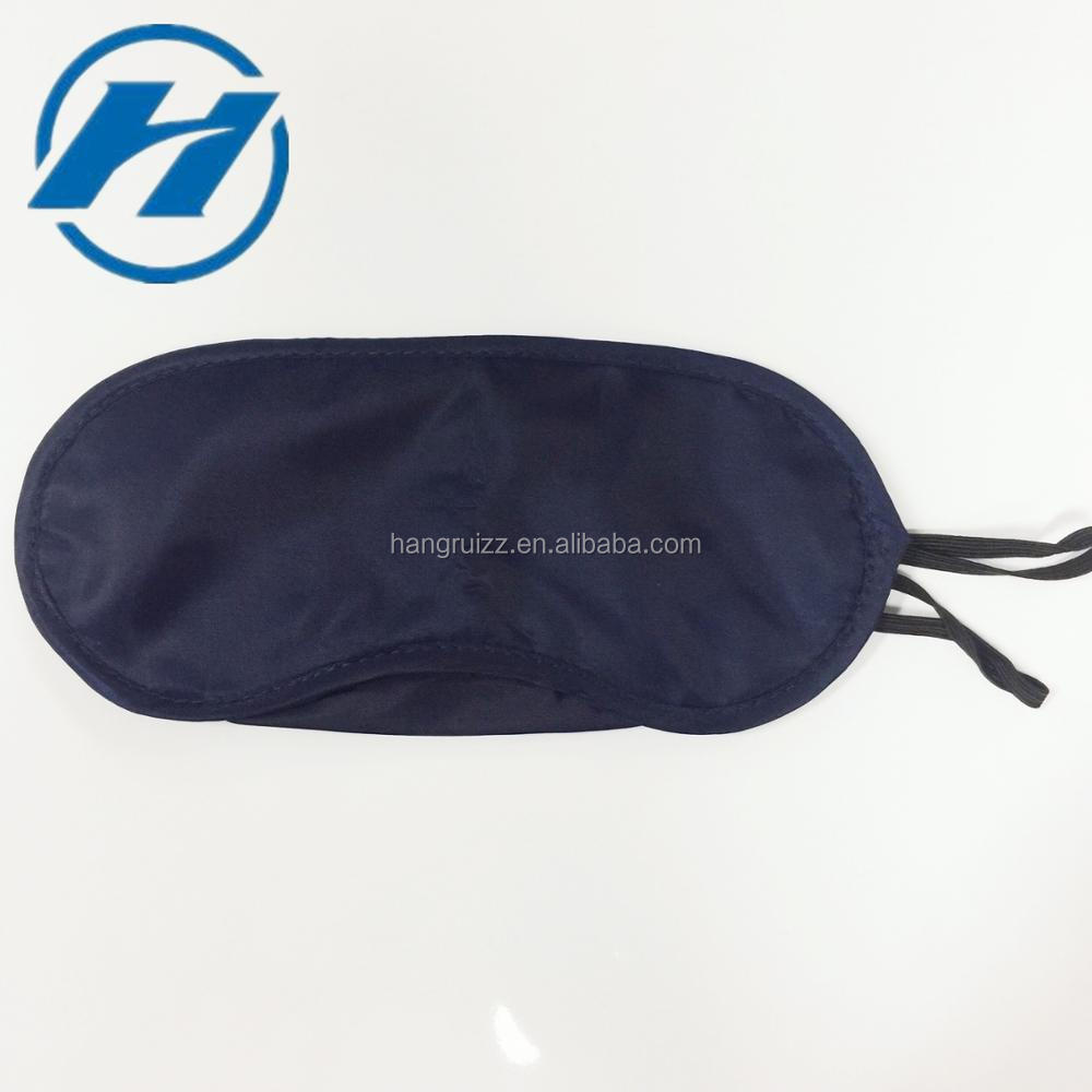 Manufacturer Wholesale Airline Disposable Polyester Travel Sleeping Eye Mask/Eyeshade