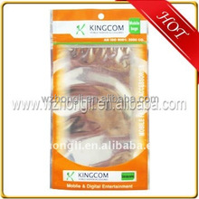 stand up aluminum foil food bag sealable meat packaging shrink plastic bags for frozen food