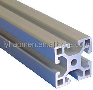 Structural aluminum profiles 40 x 40 mm ideal for assemblies CNC numerical control machines, Guards, workshops, assemblies tires