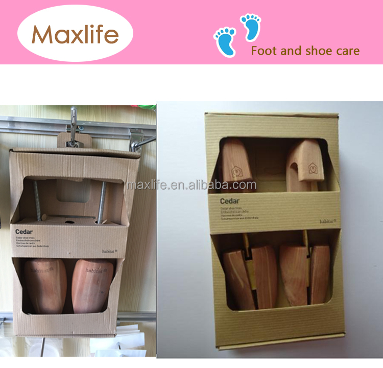 BGMX 1405 Wholesale Wooden Wood Cedar Shoe Trees