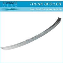 PU WD STYLE TRUNK SPOILER FOR 2006 2007 2008 2009 2010 2011 LEXUS GS
