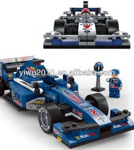 building blocks motor racing Car