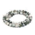 4-12mm natural Stones Beads Loose Strand Tree agate Natural Stone by DIY make bracelet