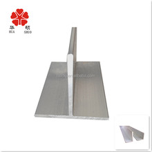 6063 t5 aluminium floors skirting profile / OEM aluminium skirting c / c beam aluminium factory