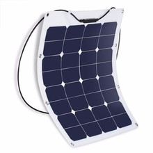Factory direct supply small solar module 50W bendable portable flexible solar panel