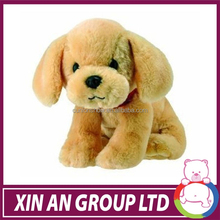 ICTI and SEDEX audit peluche wholesell OEM design soft plush stuffed dog puppets for sale