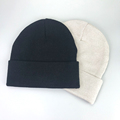 Factory price customized coloful women 100% cotton beanies